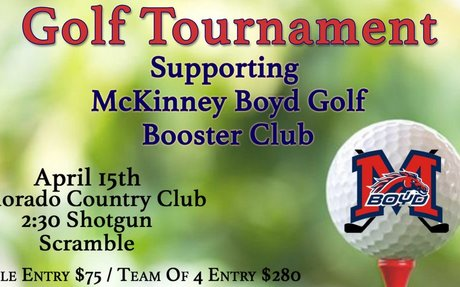 Boyd Golf Booster Club Tournament