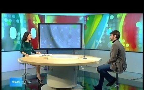 Rossi fest 2018 - RTS, Kulturni dnevnik, gost Stefan Zekic direktor Rossi festa
