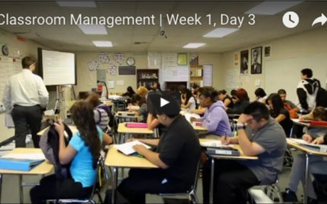 Watch a Classroom Management Expert