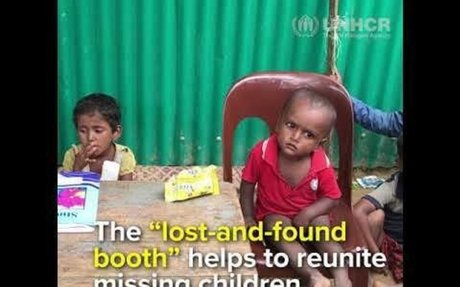 This Rohingya child has lost his parents
