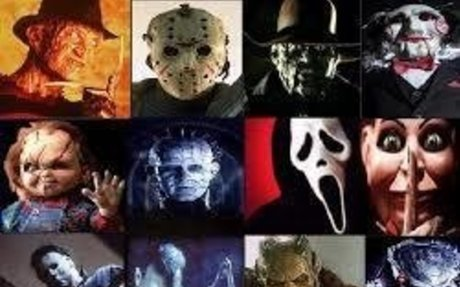 My favorite movies to watch are scary movies