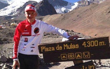 Runner Breaks Speed Record on Tallest Peak in Western Hemisphere