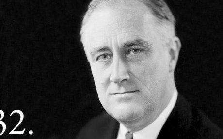 1. Franklin D. Roosevelt