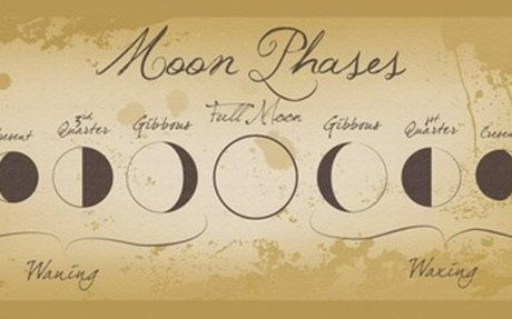 Under what Moon Phase Were You Born?