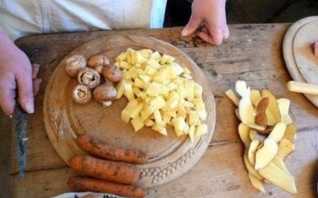 Victorian Food For The Rich & Poor Children