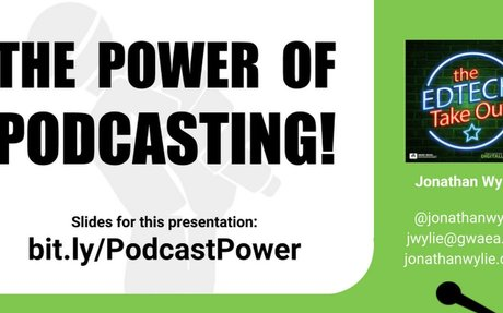 The Power of Podcasting (DeWitt)