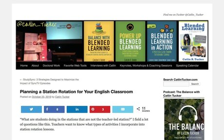 Planning a Station Rotation for Your English Classroom