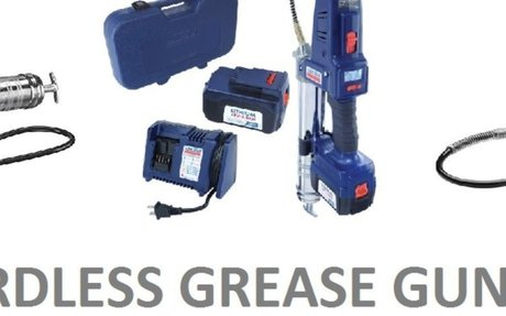 18V Cordless Grease Gun - Battery Operated & Easy to Use | Listly List | Battery Operated