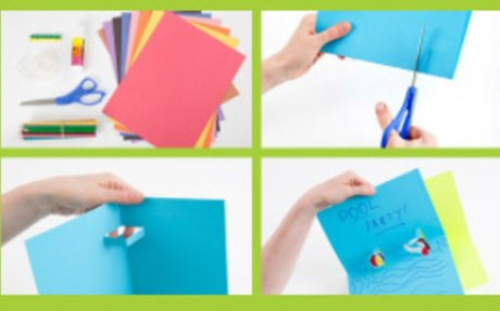 Build A Floating Box Pop-Up Card