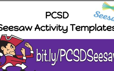 PCSD Seesaw Activity Templates