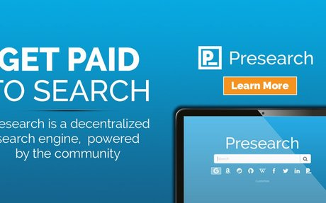 Presearch | Get paid to search!