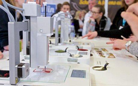 3D food printers shown at 62nd HORECAVA, Netherlands
