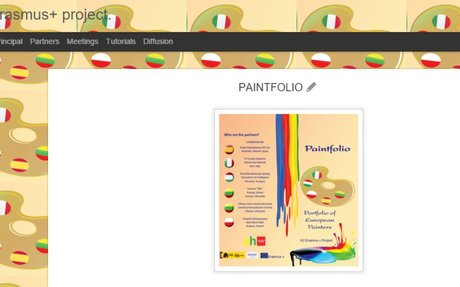 PAINTFOLIO. An Erasmus+ project.
