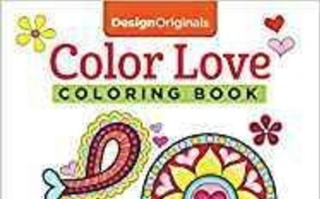 Amazon.com: Color Love Coloring Book: Perfectly Portable Pages (On-the-Go Coloring Book) (