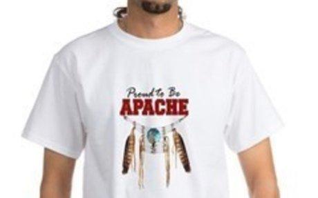 Proud to be Apache T-shirt (Modern)