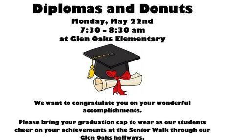 2017 Glen Oaks Diplomas and Donuts