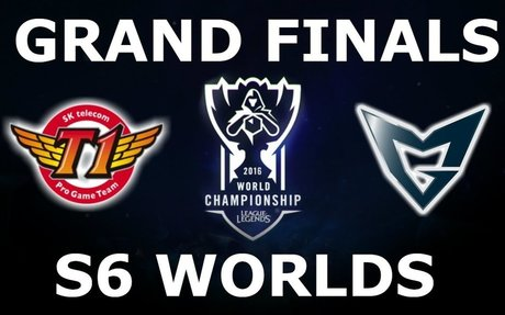 SKT vs SSG - Finals Full Series S6 LoL eSports World Championship 2016! SKT T1 vs Samsung