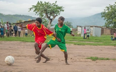Football gives Burundian girls strength to deal with trauma