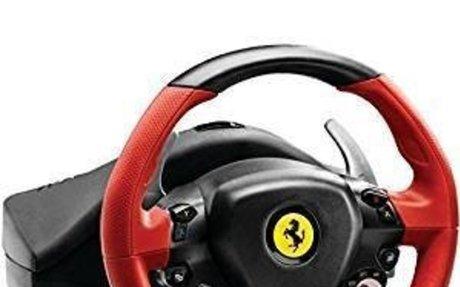 Amazon.com: Thrustmaster VG Ferrari 458 Spider Racing Wheel - Xbox One: Video Games