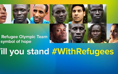#WithRefugees Petition - USA for UNHCR