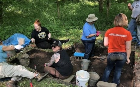 May 20, 2018: Third Year of Excavations