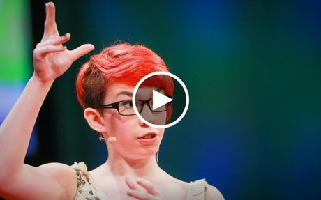 Rosie King: How autism freed me to be myself