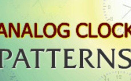 Analog Clock Patterns - Telling Time Game