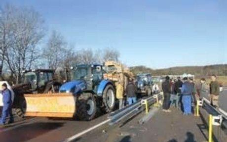 Yvelines: Des agriculteurs pour sécuriser des routes
