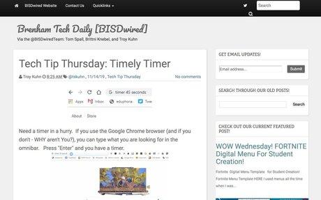 Tech Tip Thursday: Timely Timer