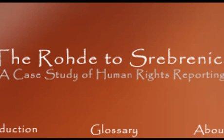 The Rohde to Srebrenica