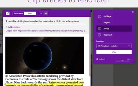A Great Tool for OneNote Users