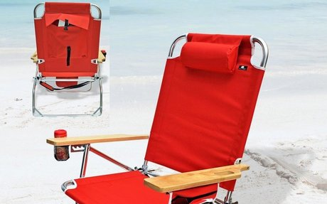 Big Jumbo Heavy Duty 500 lbs XL Aluminum Beach Chair for Big and Tall Person - Best Heavy