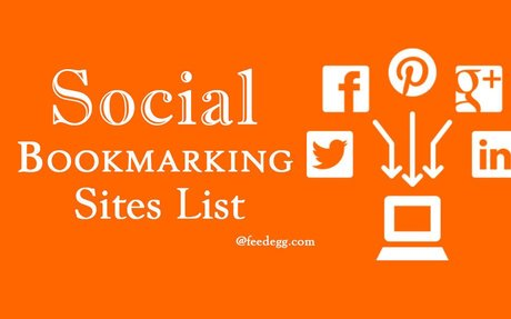 Best Free Social bookmarking Sites List of High PR that I Use for Ranking - Feedegg