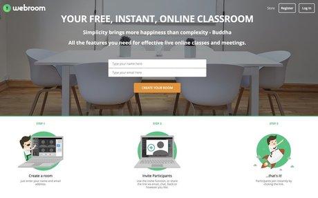 WebRoom: Free, instant, online classroom.