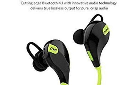 Buy Photron QY7 Upgraded Bluetooth 4.1 Wireless Sports Sweatproof In-Ear Stereo Earphone W