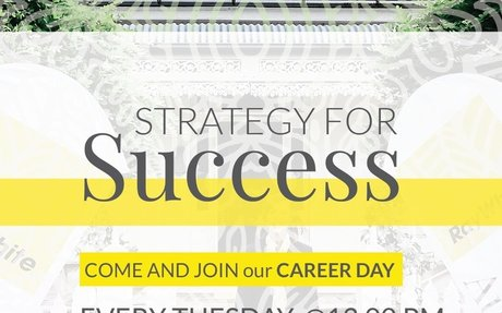 Do you want to be a Successful Entrepreneur?  Come and Join our Career Day.
