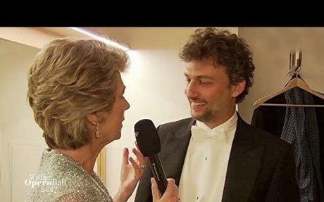 Jonas Kaufmann⭐Backstage mit Barbara Rett/Wiener Opernball