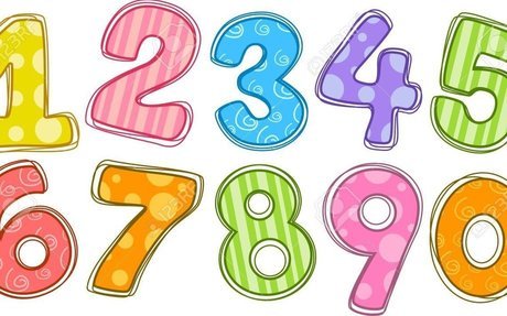 English-French numbers: CHILDREN'S DICTIONARY