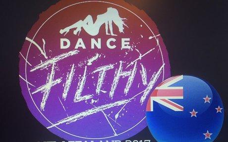 Dance Filthy NZ 2017 - Website