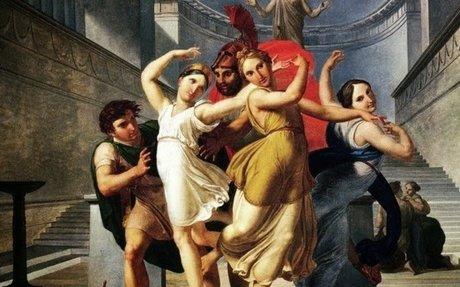 Theseus and Pirithous