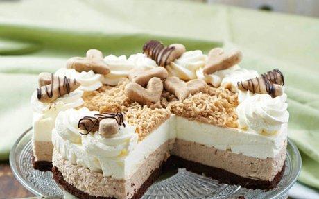Gesztenyepüré torta