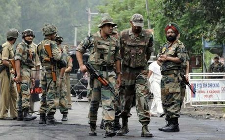 As separatists appeal for protest shutdown, security forces deployed around Kashmir