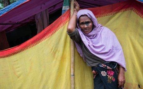 Message to the world from Nasima Khatun, a Rohingya