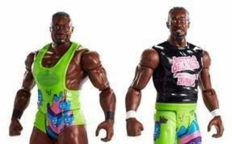 WWE Tough Talkers Total Tag Team Big E and Kofi Kingston Figure 2pk
