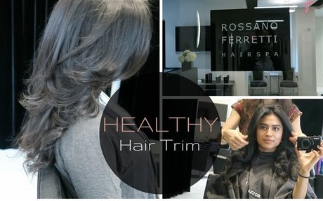 HEALTHY & PRECISED HAIR TRIM: ROSSANO FERRETTI HAIR SPA