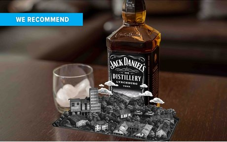 BRAND HIGHLIGHTS // Jack Daniels Turns Their Whiskey Bottle Into An AR Pop-Up Book