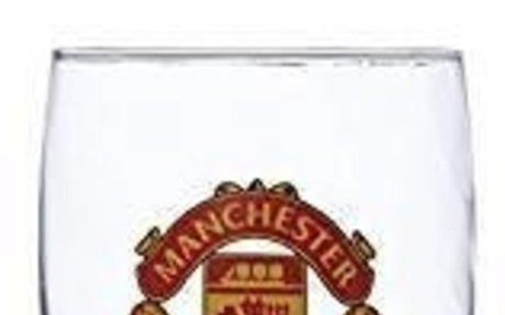 Amazon.com : Manchester United FC Pint Glass - Great for all Soccer Fans! - 100% Licensed