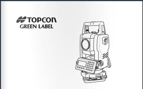 Topcon GTS 105N Total Station Manual