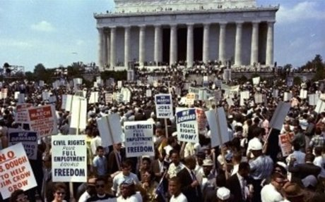 The Famous March at Washington D.C