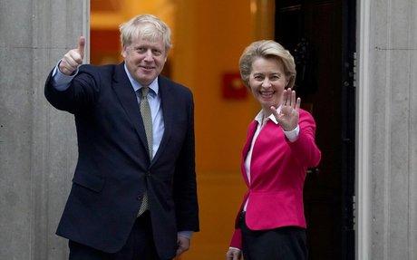 Revealed: Boris's blueprint for Brexit